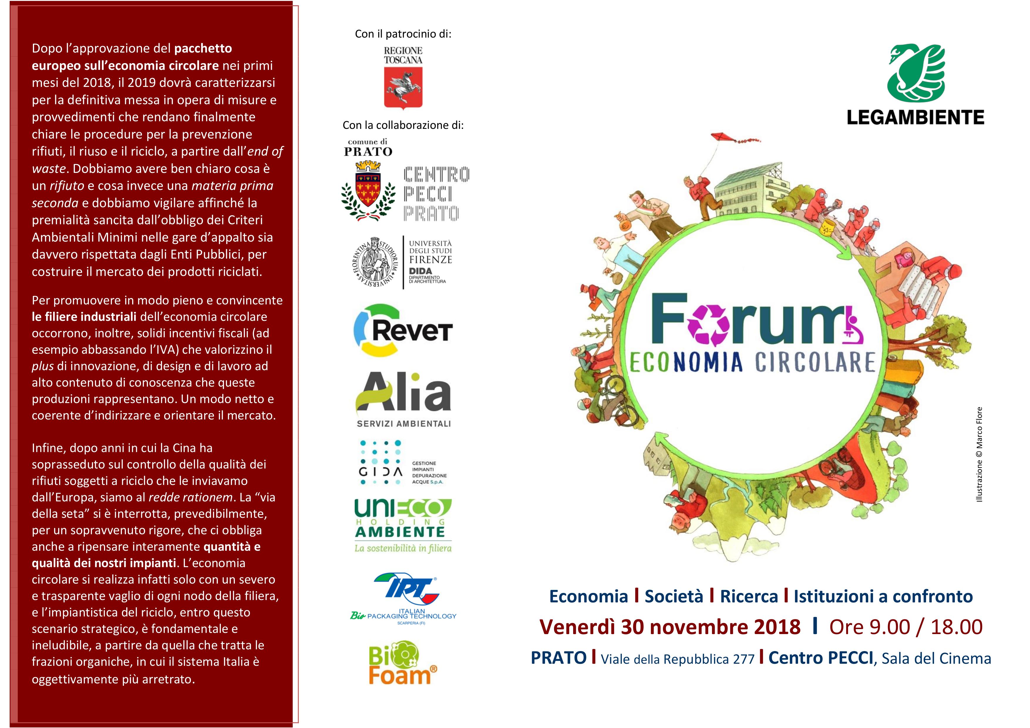 Frontespizio_Forum_ECONOMIA CIRCOLARE_2018